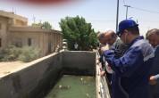 زيارة رئيس مجلس المحافظة الى مشروع ماء العباس